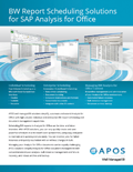 APOS solutions for SAP Analysis for Office