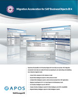 APOS Well Managed BI Solutions brochure